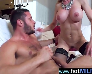 (brandi love) sexually excited milf have a fun sex on tape with large 10-Pounder as a star mov-10