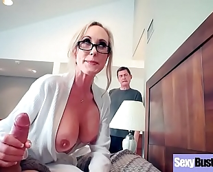 (brandi love) superb white bitch with large juggs love hard style intercorse clip-05
