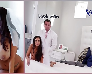 Bangbros - large love melons milf bride ava addams copulates the most excellent chap