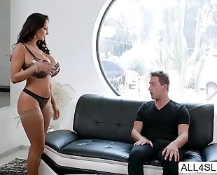 Huge marangos milf ava addams rides knobs and wishes cum in her face