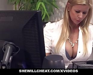 Shewillcheat - breasty milf boss bonks recent employee