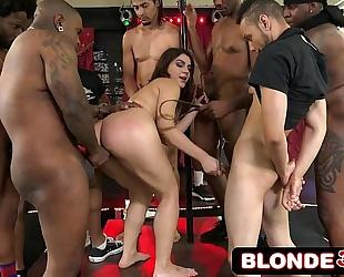 Avn award-winning interracial group sex with italian superstar valentina nappi