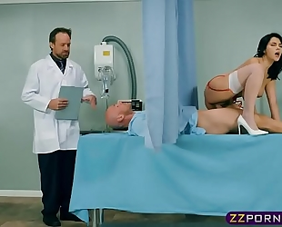 His dong is likewise large for his dirty slut wife but consummate for his nurse