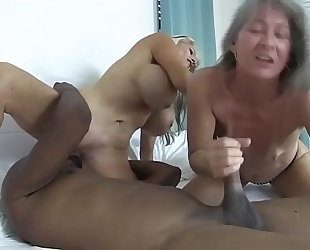 Two bitches and a bbc sally d'angelo leilani lei