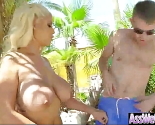 Curvy large ass slutwife (bridgette b) love anal unfathomable hard style sex clip-08