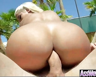 Anal sex with giant ass oiled hotwife (bridgette b) mov-07