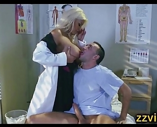 Bridgette b breasty golden-haired nurse fuck