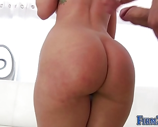 Babes arse creampied