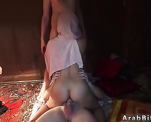 One minute hardcore and explicit oral-service scene local working white women