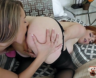 Hot redhead penny pax and kimmy granger!!