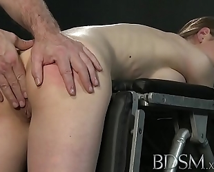 Youporn - s&m xxx youthful large breasted sub acquires hard anal from her corporalist