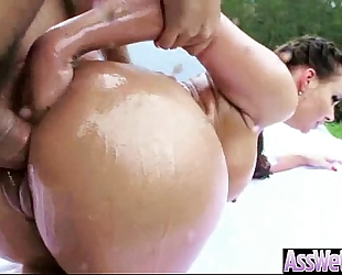 Sexy housewife (phoenix marie) with large oiled booty like anal hard group-sex vid-22