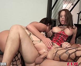 Evilangel phoenix marie anal trio