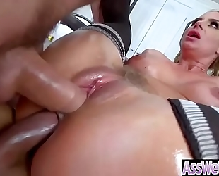 (phoenix marie) whore black cock sluts with large oiled booty receive hard anal sex movie-27
