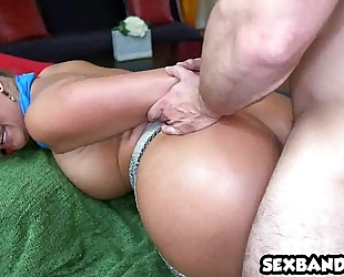 Phoenix marie is hungry for dong in her large a-hole 07