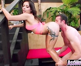 Anal hardcore sex tape with large curvy sexy ass naughty BBC slut (jynx maze) vid-14