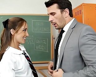 Remy la croix is a lustful schoolgirl