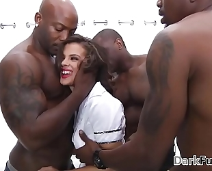 Brutal monster rod anal team fuck - keisha grey