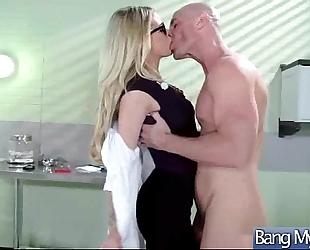 Slut excited patient (jessa rhodes) hard style team fuck with doctor movie-28