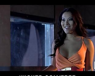Passionate oriental chick asa akira bonks her fellow