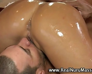 Asian sexually excited fetish whore receives a ejaculation