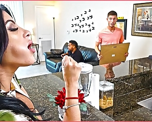 Bangbros - kitty caprice receives her latin large a-hole screwed whilst her bf is home