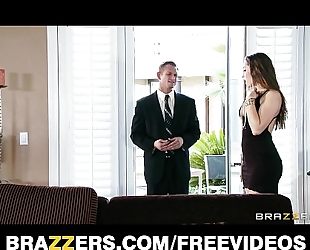 Young hotwife dani daniels bonks her husband's business partner