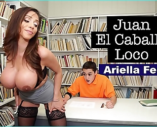 Bangbros - milf teacher ariella ferrera helps youthful juan el caballo loco pass his class