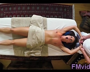 Rahyndee james fucking with masseur