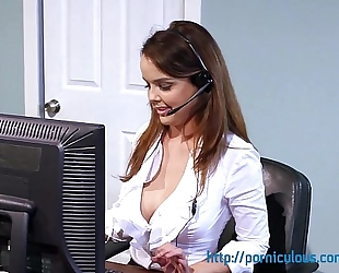 Big milk sacks at work - compilation - amia miley, dillion harper, and greater amount...