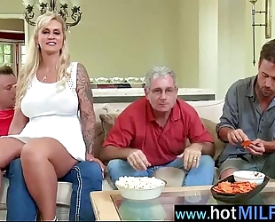 Naughty housewife have a fun intercorse on large schlong on cam (ryan conner) vid-26