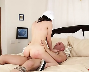 Yhivi receives her breathtaking body screwed