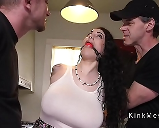 Huge titties alt thrall acquires anal screwed