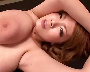 Busty oriental wench hitomi tanaka bukkake - part 1