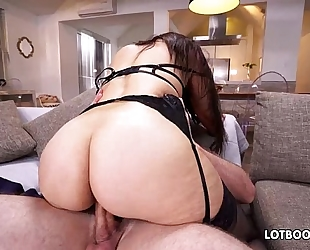 Fat a-hole breasty lalin girl milf sophie leon fucking in nylons
