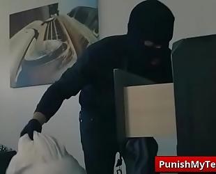 Submissive porn with bandits of servitude with sophia leone porn clip-01