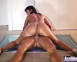 Hard anal intercorse with large round booty BBC slut (franceska jaimes) vid-14