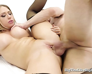 Kagney linn karter drilled hard!