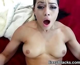 Gorgeous ex girlfriend karissa kane taking jizz flow on breasts