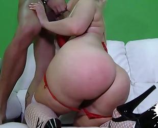 Anal breasty lalin girl blondie