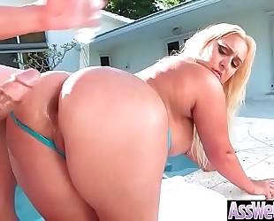 Anal hardcore sex with big round oiled arse whore dilettante white women (nina kayy) clip-25