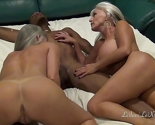 Cam show enjoyment with two milfs and a bbc