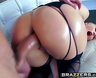 Brazzers.com - large juicy booties - aj applegate will powers - bodystocking arse