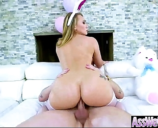Anal unfathomable sex with large booty oiled doxy wicked slutwife (aj applegate) mov-01