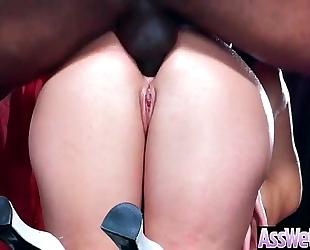(aj applegate) large curvy a-hole black cock sluts have a fun on livecam unfathomable anal sex video-02