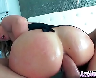 Anal unfathomable sex tape with massive round arse concupiscent cheating wife (aj applegate) movie-03