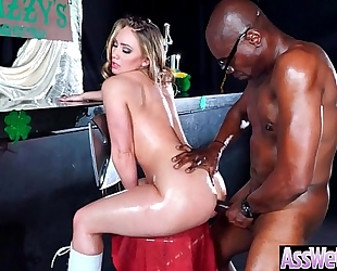 Big oiled booty hawt white women (aj applegate) like and have a fun unfathomable anal sex mov-04