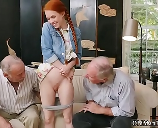 Old masturbation watching and pair tempt online hook-up