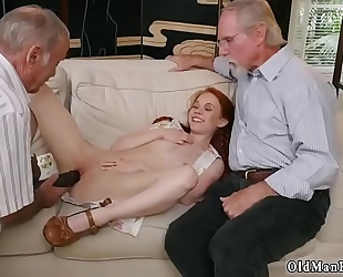 Old ambisexual pair youthful stud online hook-up