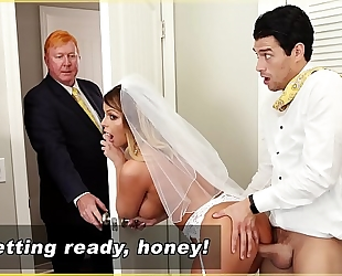 Bangbros - milf bride brooklyn follow receives screwed by step son!